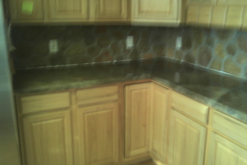 Kitchen Countertops, Micro topping overlay over existing formica tops